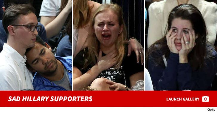 Upset Hillary Clinton Supporters