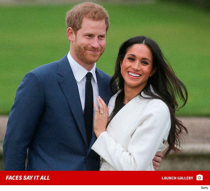 Prince Harry and Meghan Markle Show Off the Royal Stones