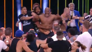 Mike Tyson Ignites AEW Brawl with Chris Jericho, Henry Cejudo Involved