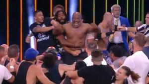 Mike Tyson Ignites AEW Brawl with Chris Jericho, Henry Cejudo Involved