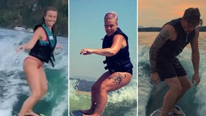 Wakesurfing Stars -- What A Ride!