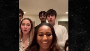 Sasha Obama Dancing Front and Center in Fun TikTok