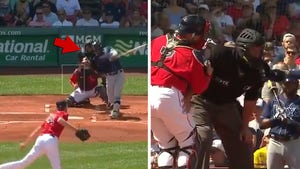 MLB Ump Manny Gonzalez Out Indefinitely After Being Drilled By Foul Ball