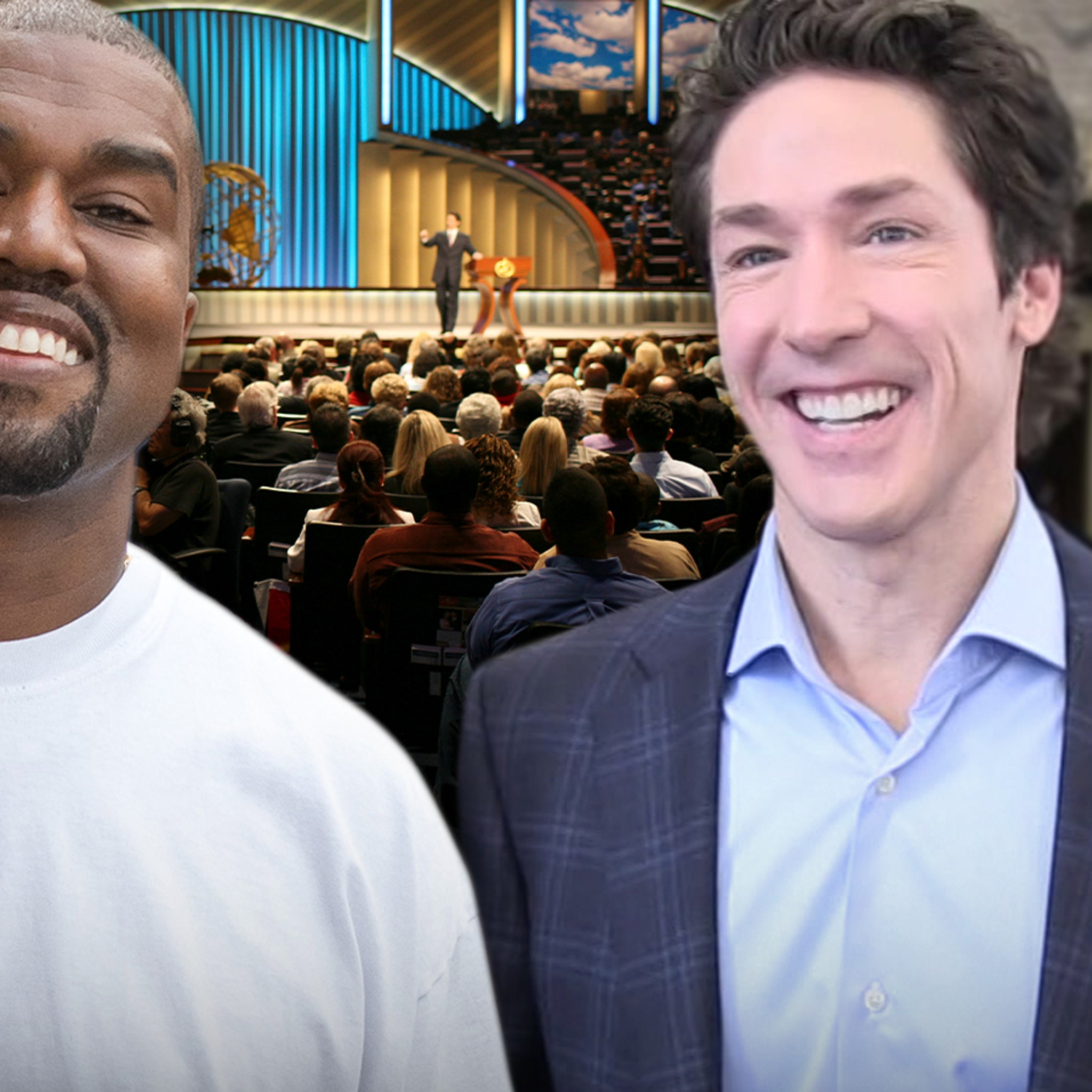 Kanye West's Sunday Service at Joel Osteen's Church Requires Tickets