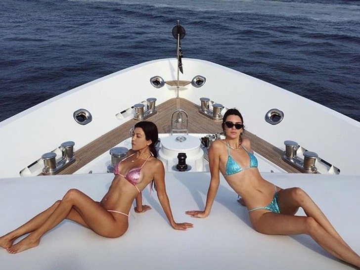 The Kardashians On Vacation