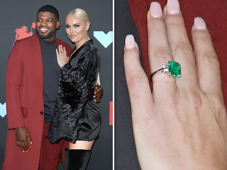 Lindsey Vonn Rocks Giant Engagement Ring to MTV VMAs