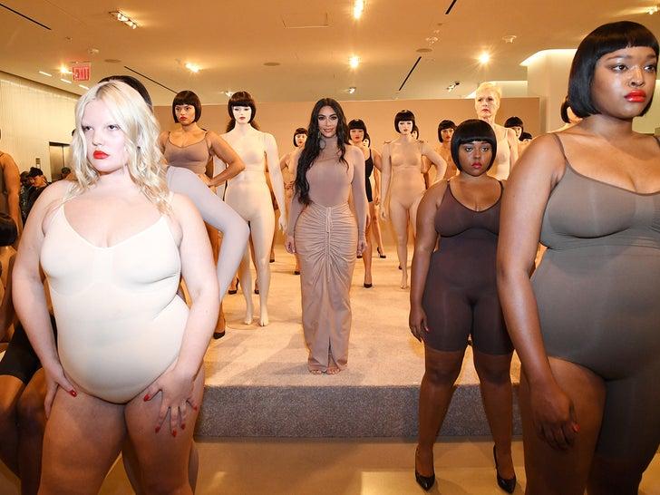 Kim Kardashian Brings SKIMS Line to Nordstrom