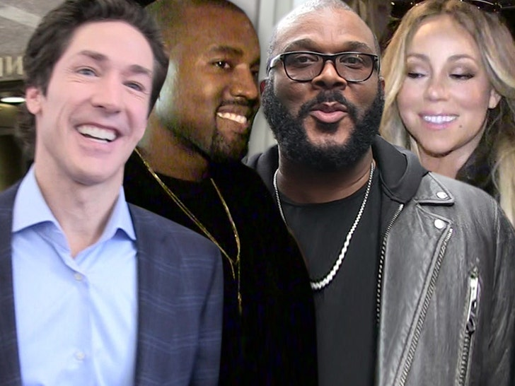 Kanye West to Join Joel Osteen's Virtual Easter Sunday Service