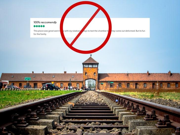 Tripadvisor review describes Auschwitz as Fun for the Family