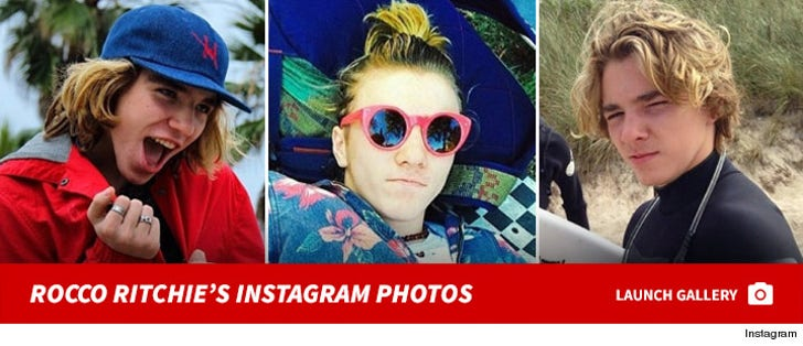Rocco Ritchie's Instagram Photos