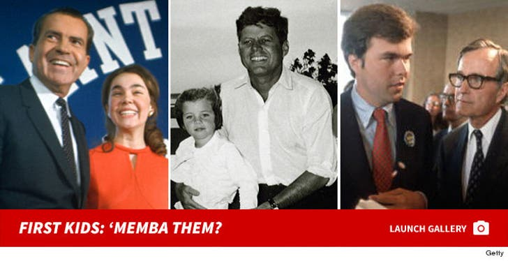 Presidential First Kids -- 'Memba Them?