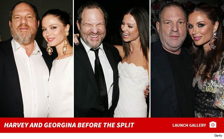 Harvey Weinstein and Georgina Chapman -- Before the Split