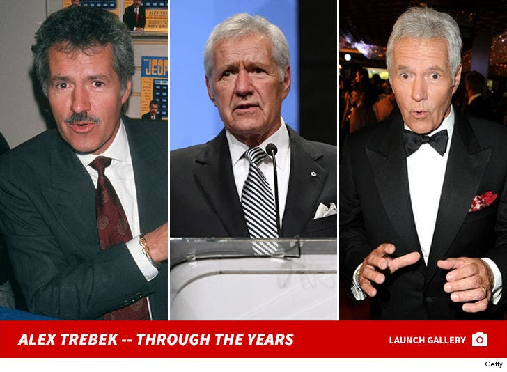 Alex Trebek Through the Years