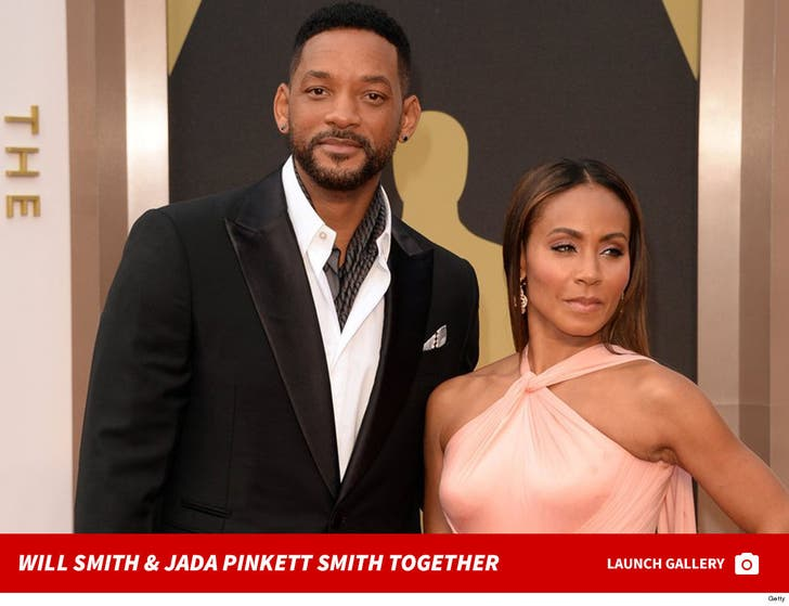 Will Smith and Jada Pinkett Smith -- The Happy Couple