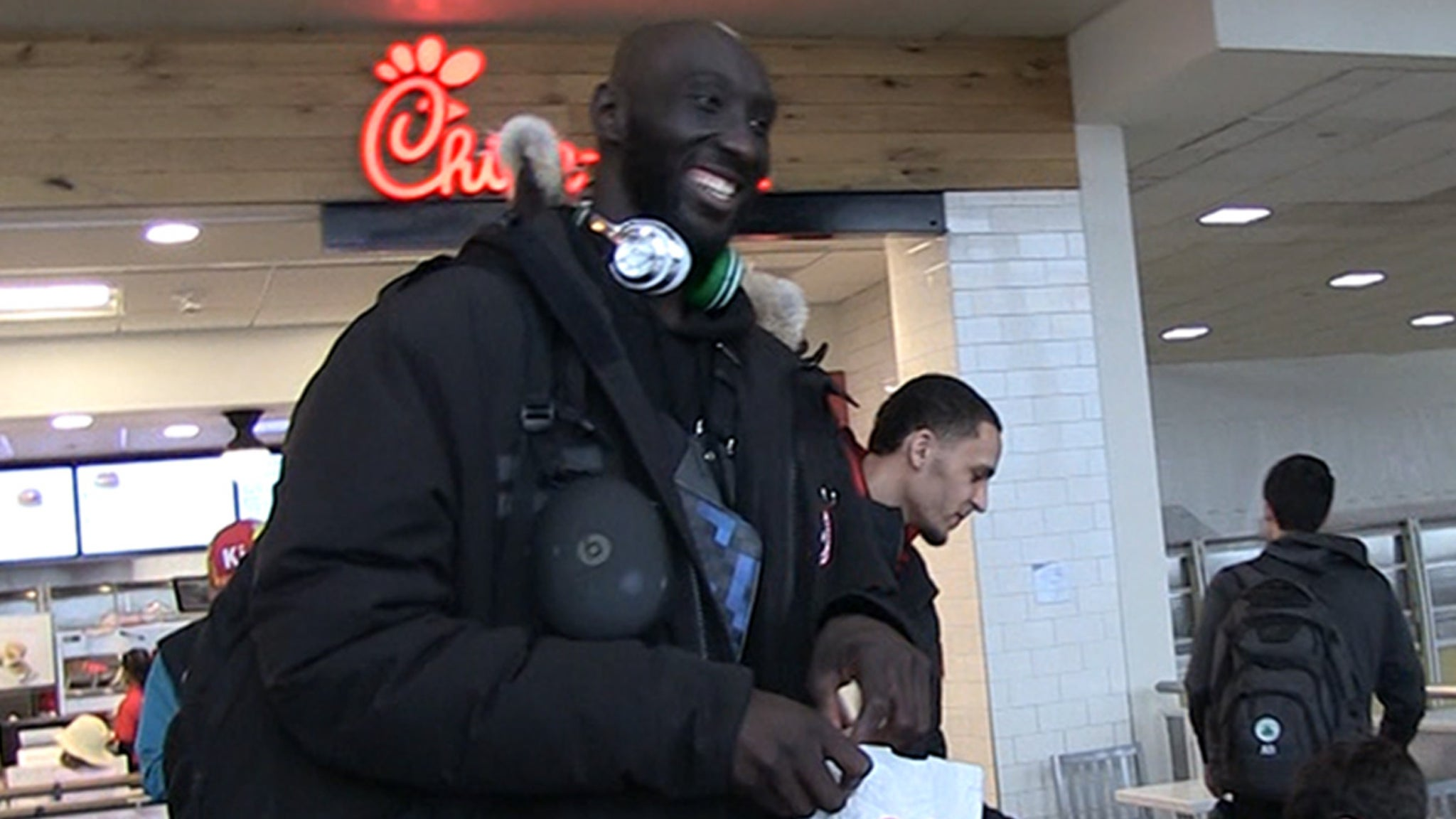 """Tacko Fall Reveals How Many Sandwiches It Takes To Fuel 7'5"""" NBAer"""