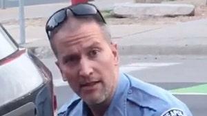 Ex-Cop Derek Chauvin's Divorce Finalized, Ex Says She Doesn't Feel Safe