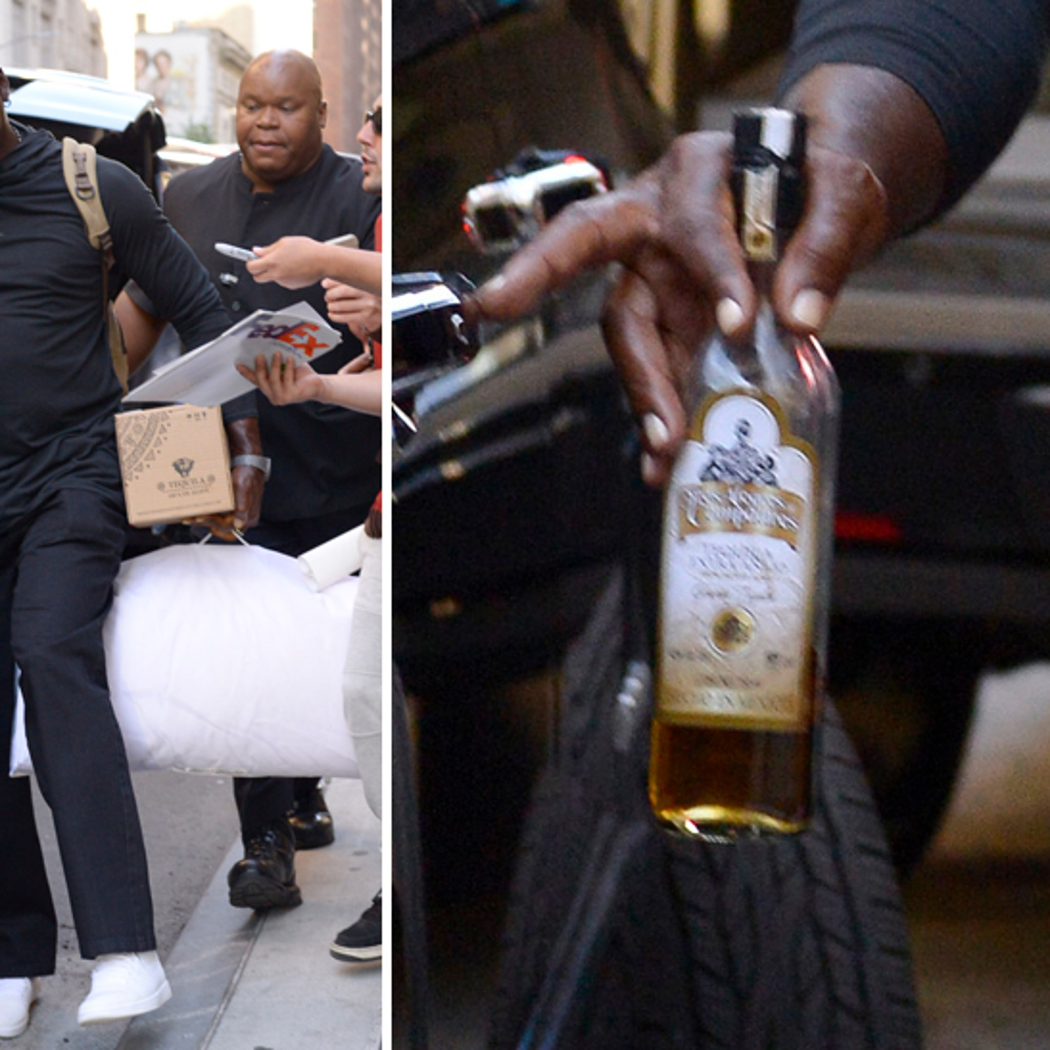 mientras Aniquilar Evaluable  Michael Jordan Living That Tequila Life In NYC