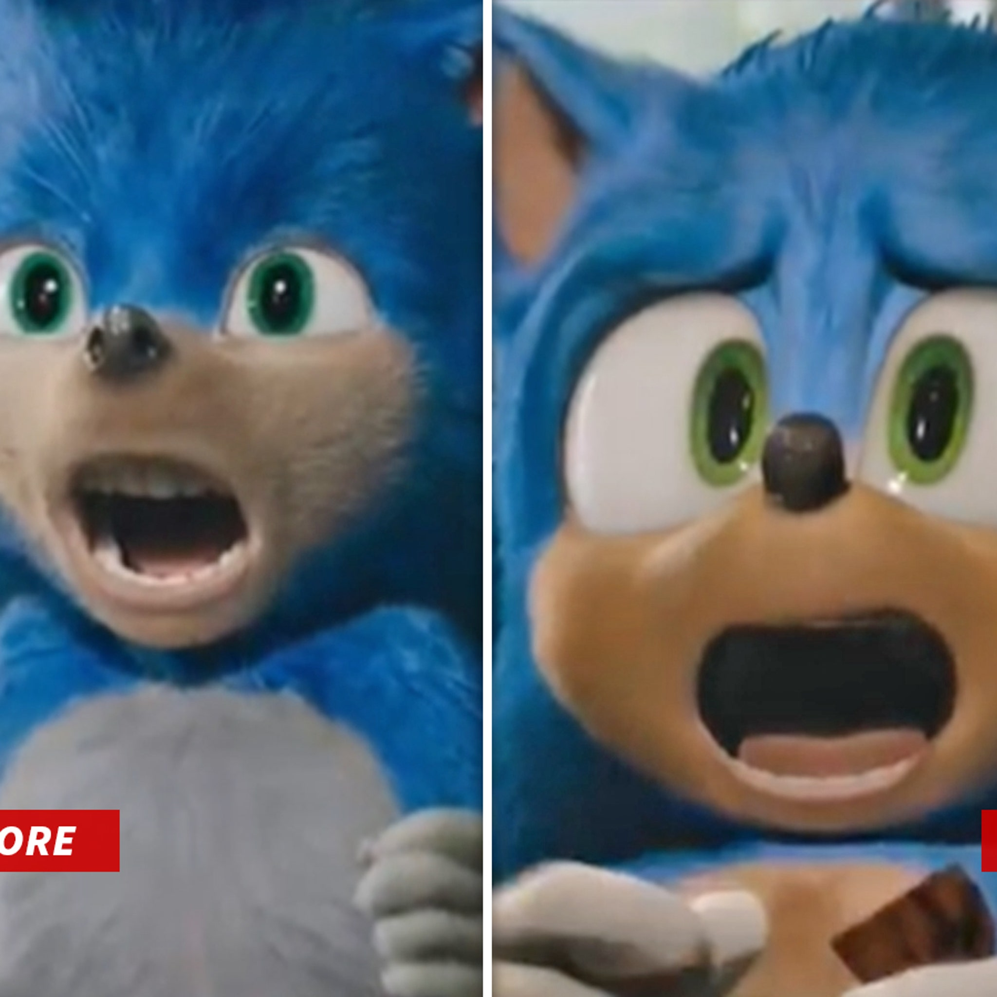 Sonic The Hedgehog Gets Bigger Eyes Smaller Teeth After Backlash