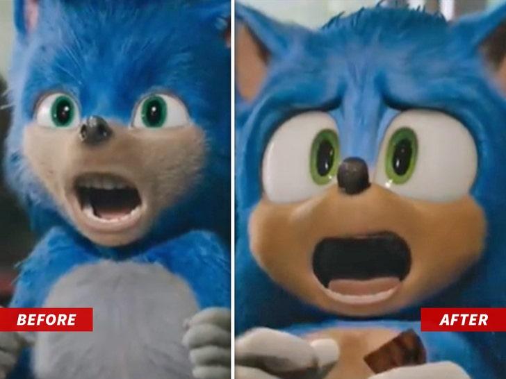 Sonic The Hedgehog Gets Bigger Eyes Smaller Teeth After Backlash