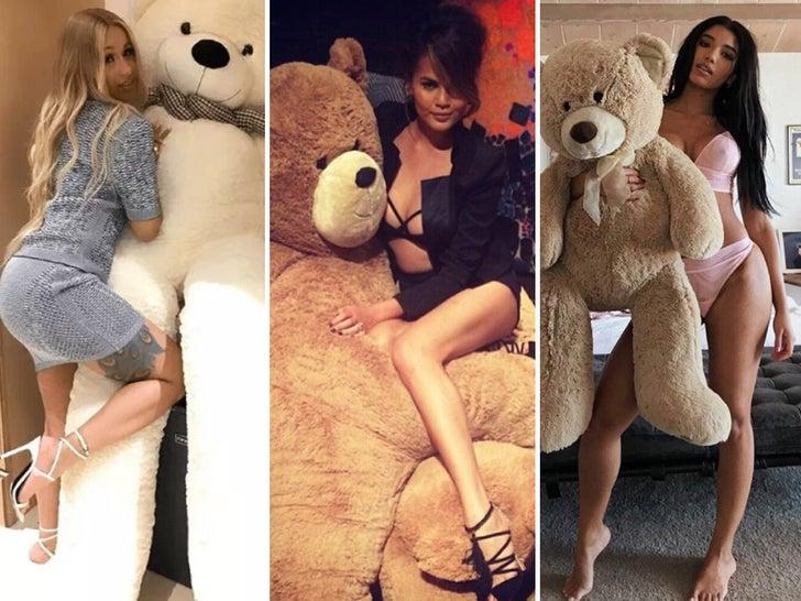 Babes With Big Teddy Bears