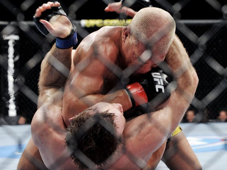 Tito Ortiz Fight Photos