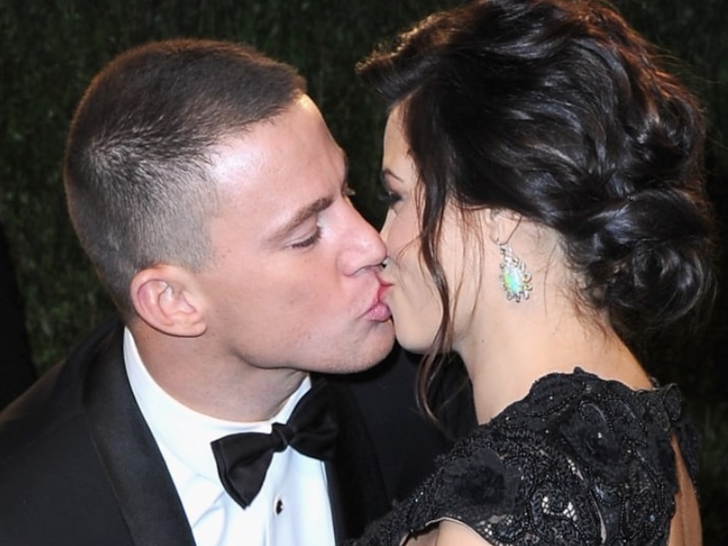 Channing Tatum and Jenna Dewan -- Happier Times