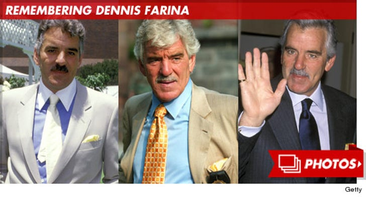 Remembering Dennis Farina