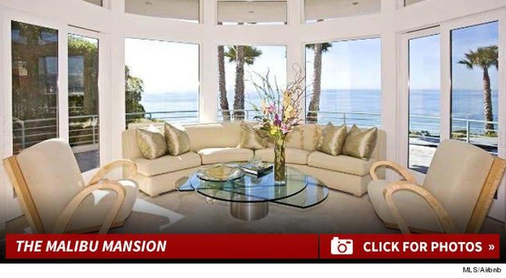 Mariah Carey's Malibu Mansion