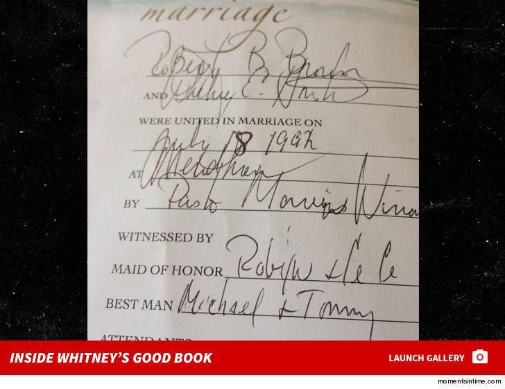 Inside Whitney Houston's Good Book
