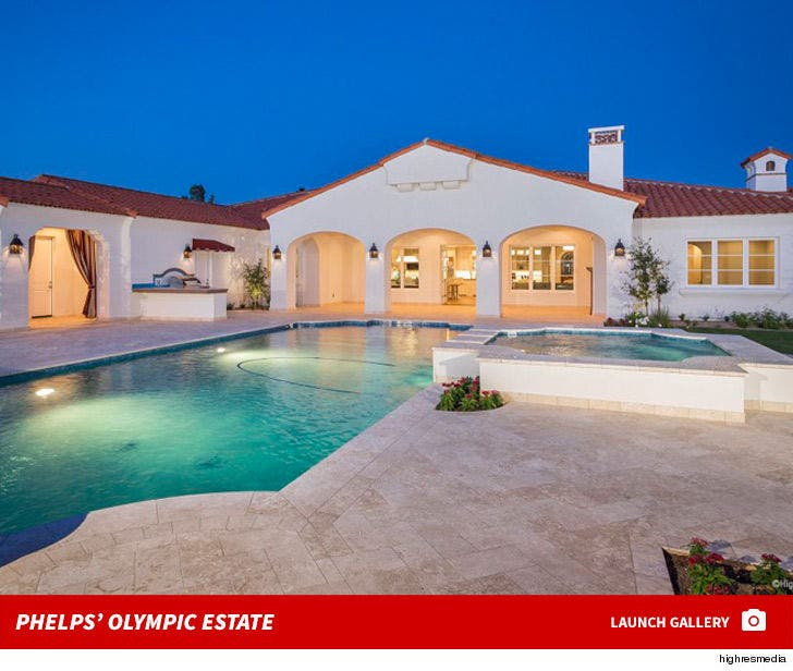 Michael Phelps Lists Arizona Home