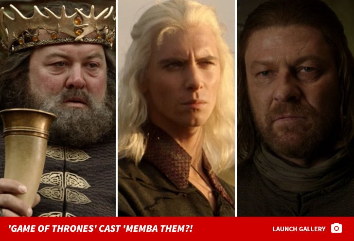 'Game Of Thrones' Cast -- 'Memba Them?!