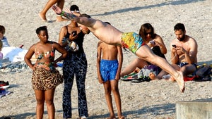 Conor McGregor Takes a Dive On France Family Vacation, Brings Own Photog Team!