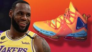 LeBron James Reveals Space Jam-Inspired 'LeBron 19' Signature Shoe