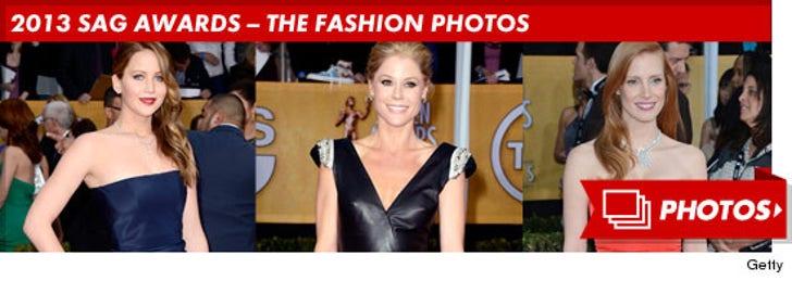 2013 SAG Awards -- The Fashion Photos