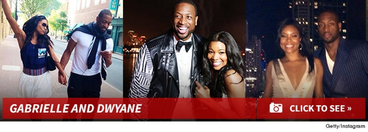 Gabrielle Union & Dwyane Wade's Wedding -- No Cameras Or Cell Phones!