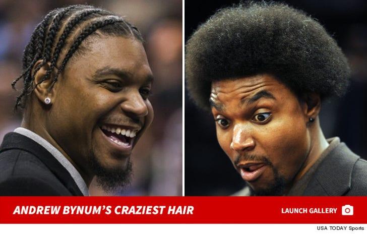 Andrew Bynum's Craziest Hair