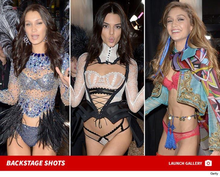 2016 Victoria's Secret Fashion Show Backstage