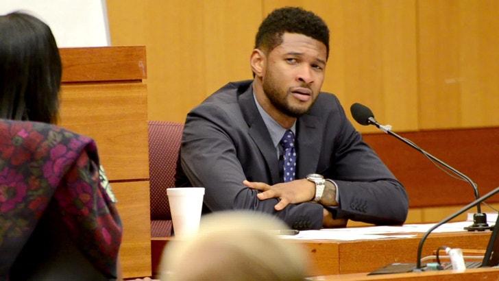 Car Broke Down >> Usher Breaks Down in Court Over Bad Dad Allegations