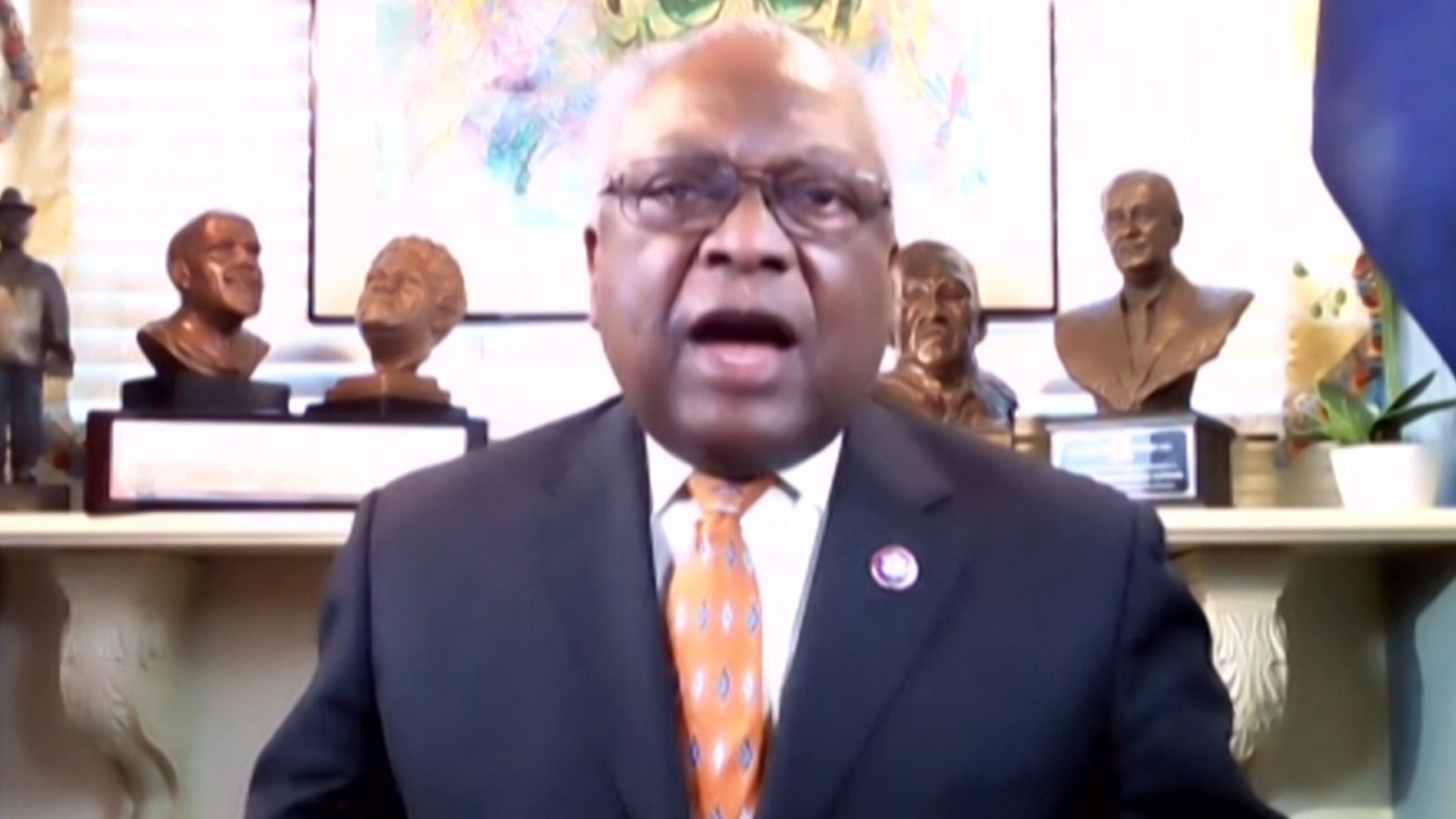 Rep. Jim Clyburn Calls Out GOP Members Attempting to Bring Guns on House Floor