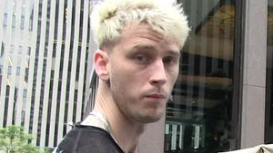 Machine Gun Kelly Sued by Parking Attendant Claiming Assault, Battery