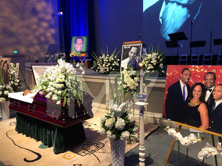John Witherspoon Laid To Rest In Star Studded Fashion