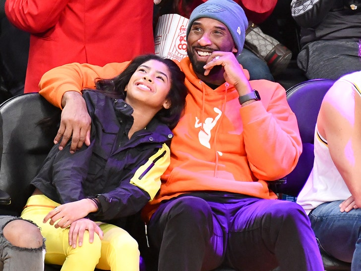 Kobe and Gianna