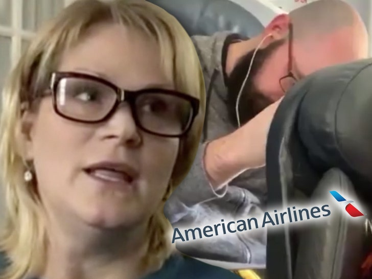 American Airlines Passenger says AA Threatened to Arrest HER Over Punched Seat - EpicNews