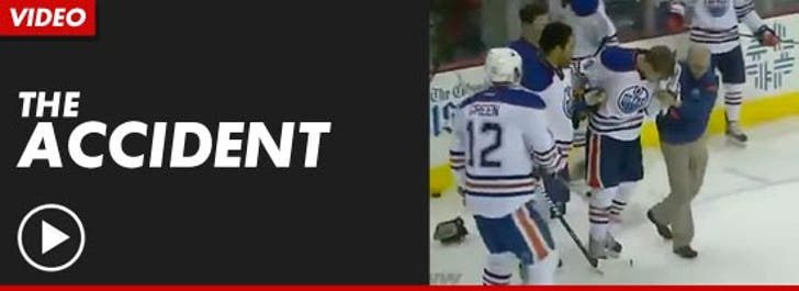 Nhl Star Taylor Hall Gnarliest Hockey Injury Revealed In Photo