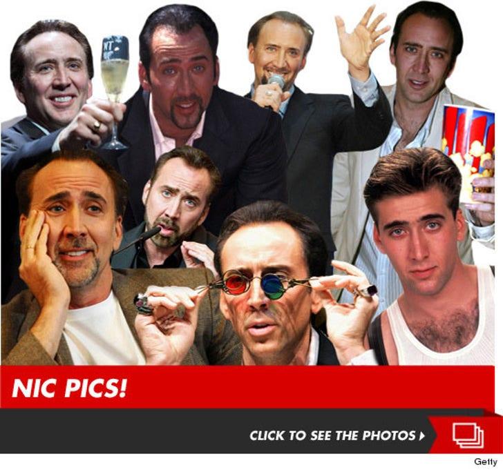 Our 'National Treasure' -- Nicolas Cage!