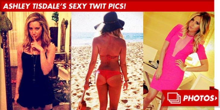 Ashley Tisdale's Sexy Twit Pics