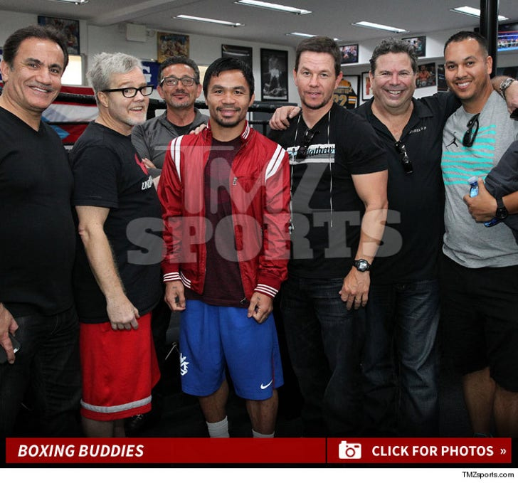 Mark & Manny -- The Boxing Gym Visit