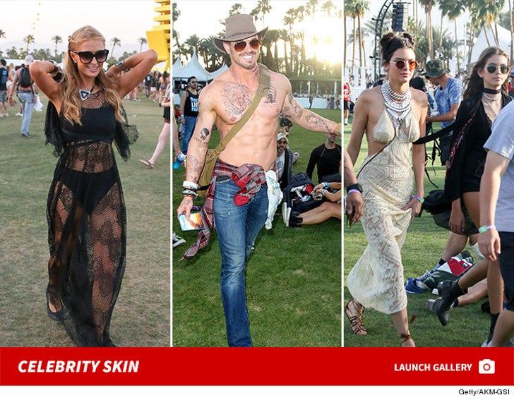 Celebrity skin - Coachella 2016