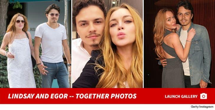 Egor Tarabasov and Lindsay Lohan -- Together Photos