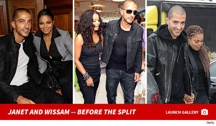 Janet Jackson and Wissam Al Mana -- Together Photos
